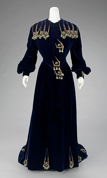 Afternoon dress. House of Paquin. 1901 Met