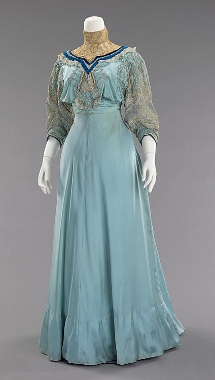 Afternoon dress. House of Paquin. 1906-08 Met