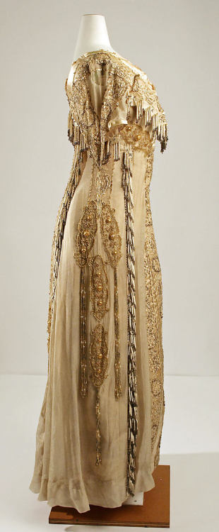 Evening dress. House of Paquin 1904 Met