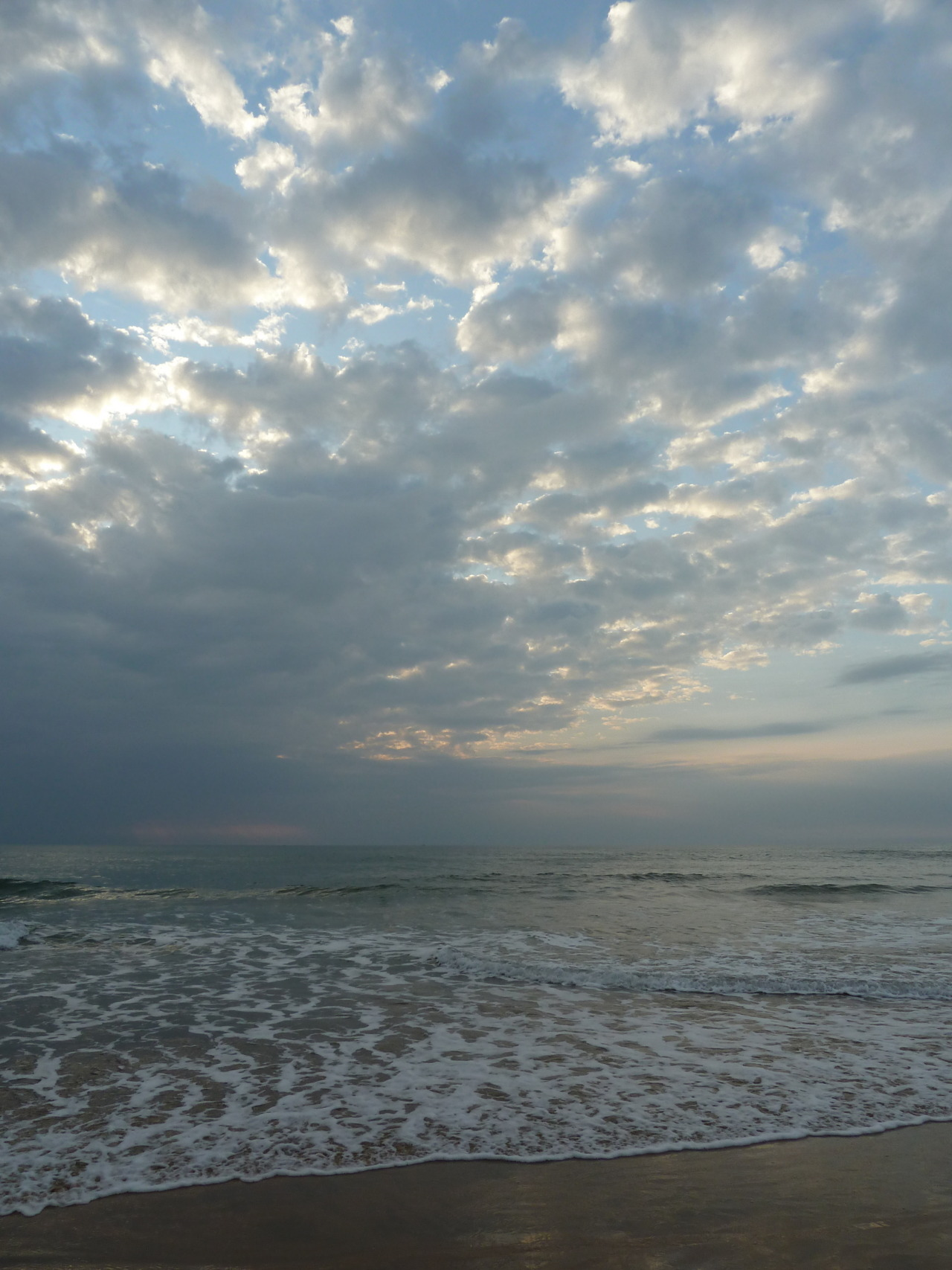 Clouds over the Arabian Sea