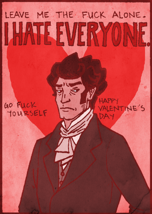 collectionofmemoranda:  Have a happy Heathcliff Valentine! ♥