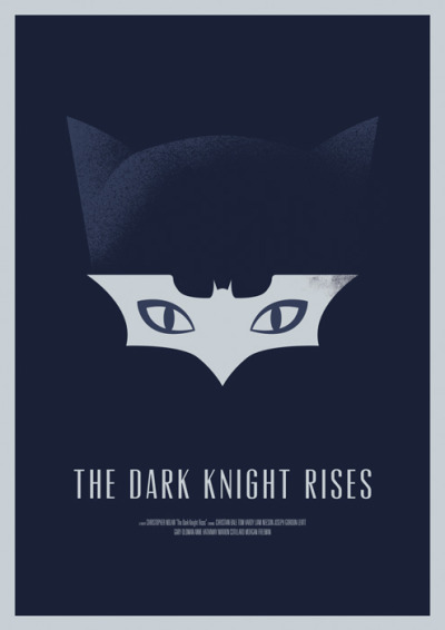 fuckyeahmovieposters:  The Dark Knight Rises by Dee Choi