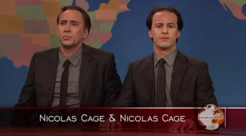 -saturdaynightlive:  Last night's episode was too much for me to handle.  The only funny part of last night's episode.