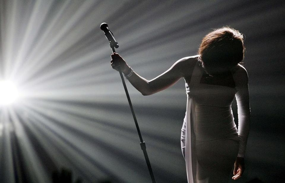 Whitney Houston, superstar of records, films, dies - Whitney Houston, who reigned as pop music's queen until her majestic voice and regal image were ravaged by drug use, erratic behavior, and a tumultuous marriage to singer Bobby Brown, has died. She was 48.