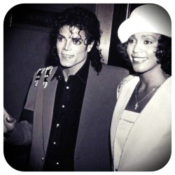 R.I.P to two great legends Michael Jackson n Whitney Houston