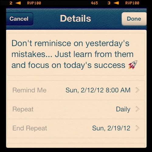 jazmine-ash:  My daily motivation 👍 (Taken with instagram)