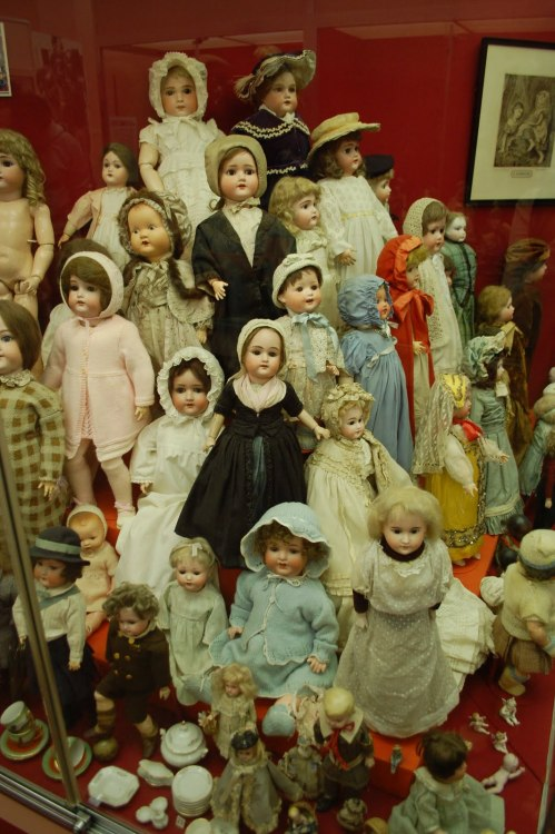 Museum of Childhood Edinburgh One of the best collections of dolls and some of them are really creepy I would not want to visit at night time especially after just seeing the movie The Woman in Black. Visit Website