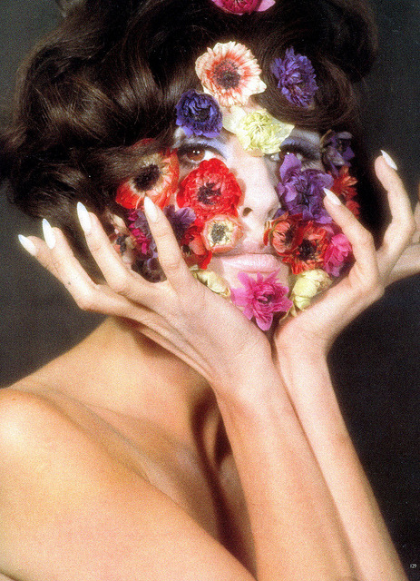 Veruschka, photo by Franco Rubartelli, 1965