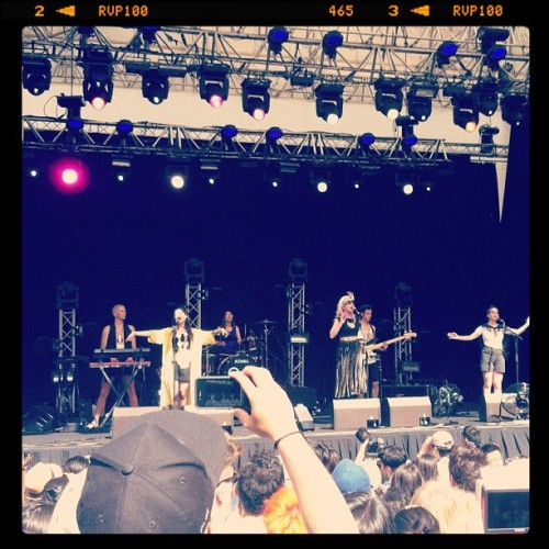 #austra #lanewayfestival #music #fest #instagram  (Taken with instagram)