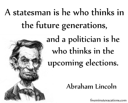 Another From Honest Abe