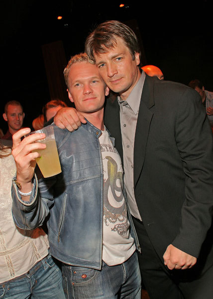 bamsaidtheladay: thebugginator: Nathan Fillion and Neil Patrick Harris 2 ...