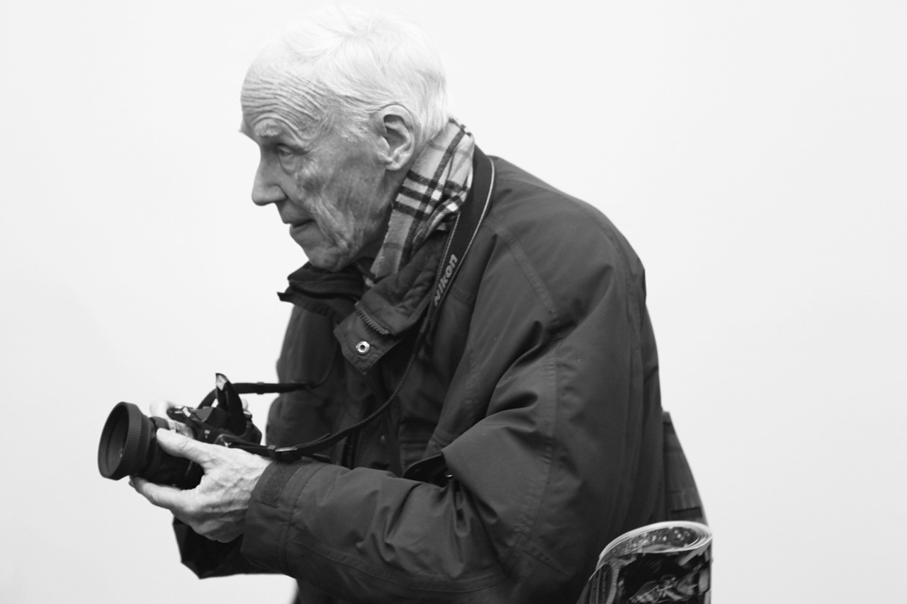 Bill Cunningham at Work Photo by: Tyler Nevitt
