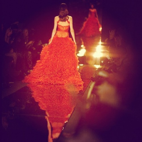 Like a dream #photooftheday #nyfw #fashion  (Taken with instagram)