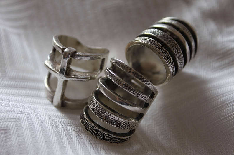 My two favourite rings from Pamela Love. #Fashion