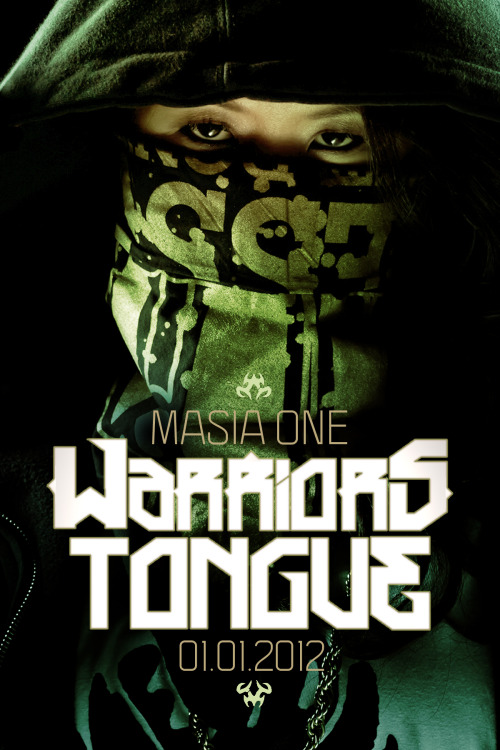 "The tribal drums lead Masia One's ""Warrior's Tongue"" until her slightly digitized flow leaps onto the beat.  This is a tight future-bass production, with squelches M.I.A., Santigold, and Nicki Minaj can all appreciate, but Masia One holds her own spitting this track hidden under an androgynous hoodie surrounded by Asian street scenes…  As a bonus, she's released the acapella track for DJs to freely download and remix, and has posted several already on her blog.  Scroll down for the exclusive .wav, it's hidden on Soundcloud so there's no link, sorry.  For more music including remixes from Mochipet & ill.Gates, check out Masia One on Soundcloud."