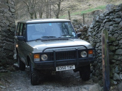 impalaadventures:  Impala Support Range Rover in the Lakes