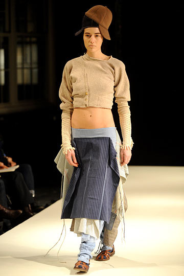 Crazy little outfit, but love the sweater! Miguel Adrover Fall 2012 RTW