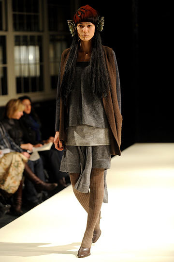 More layers from Miguel Adrover Fall 2012 RTW