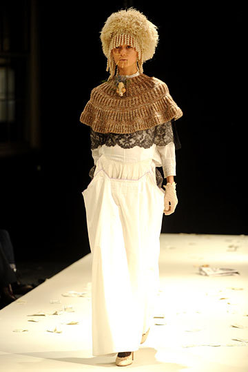 Looks like Capelets & Shrugs are still on the Runway! I think I can help you with that! Miguel Adrover Fall 2012 RTW