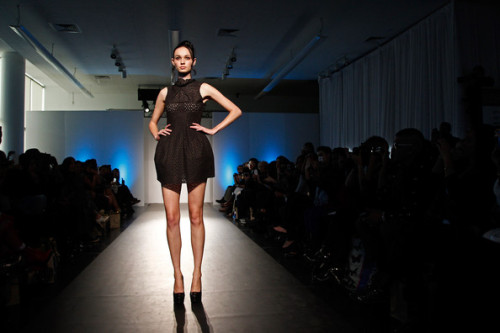 Very proud of my friend Riza Manalo, Check out her designs from her runway show during Nolcha Fashion Week New York at the Alvin Ailey Studios on February 9, 2012 in New York City.