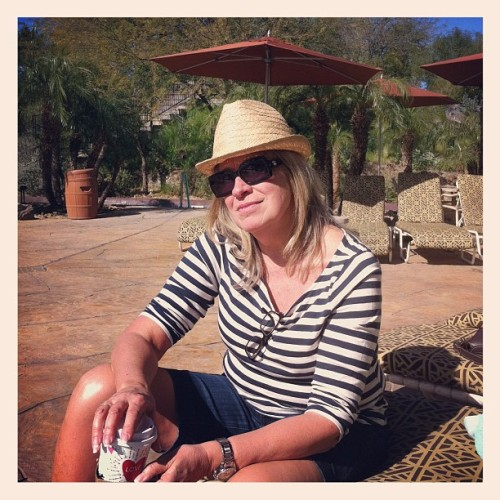 My mom is cooler than you. #suzette #ilovevacation  (Taken with Instagram at Lazy River @ Squaw Peak)