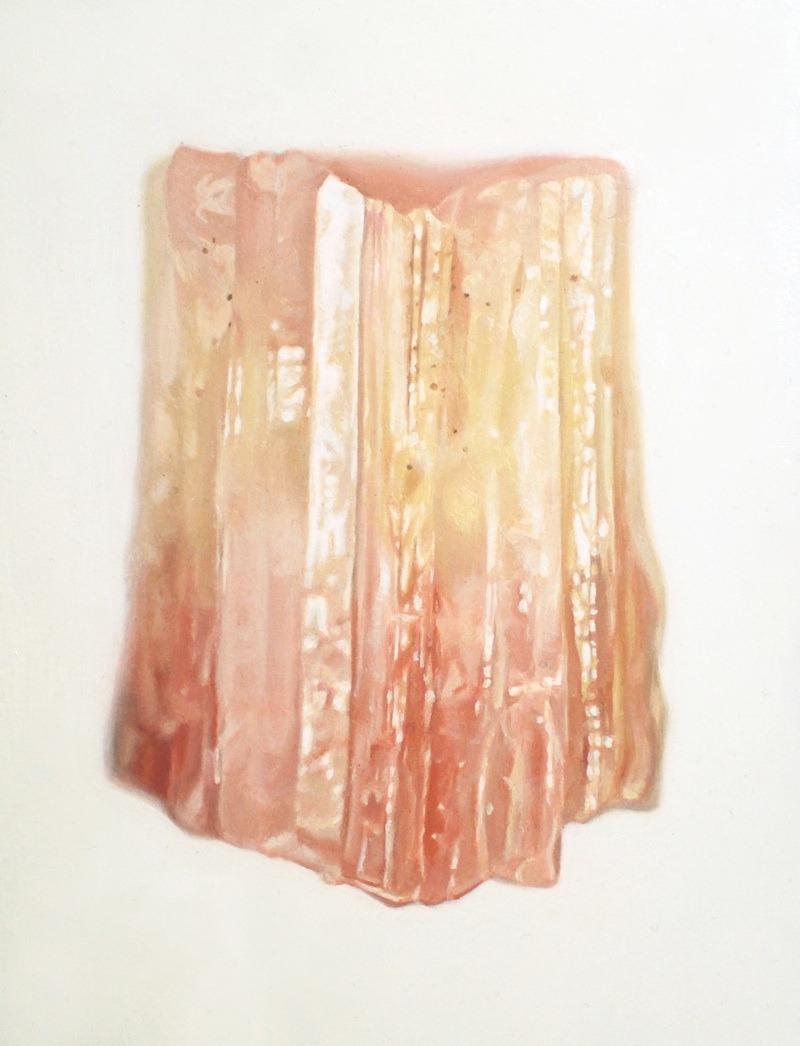 (via multicolouredtourmalineZOOM) Muliticoloured Tourmaline, 2009  ~  oil on masonite