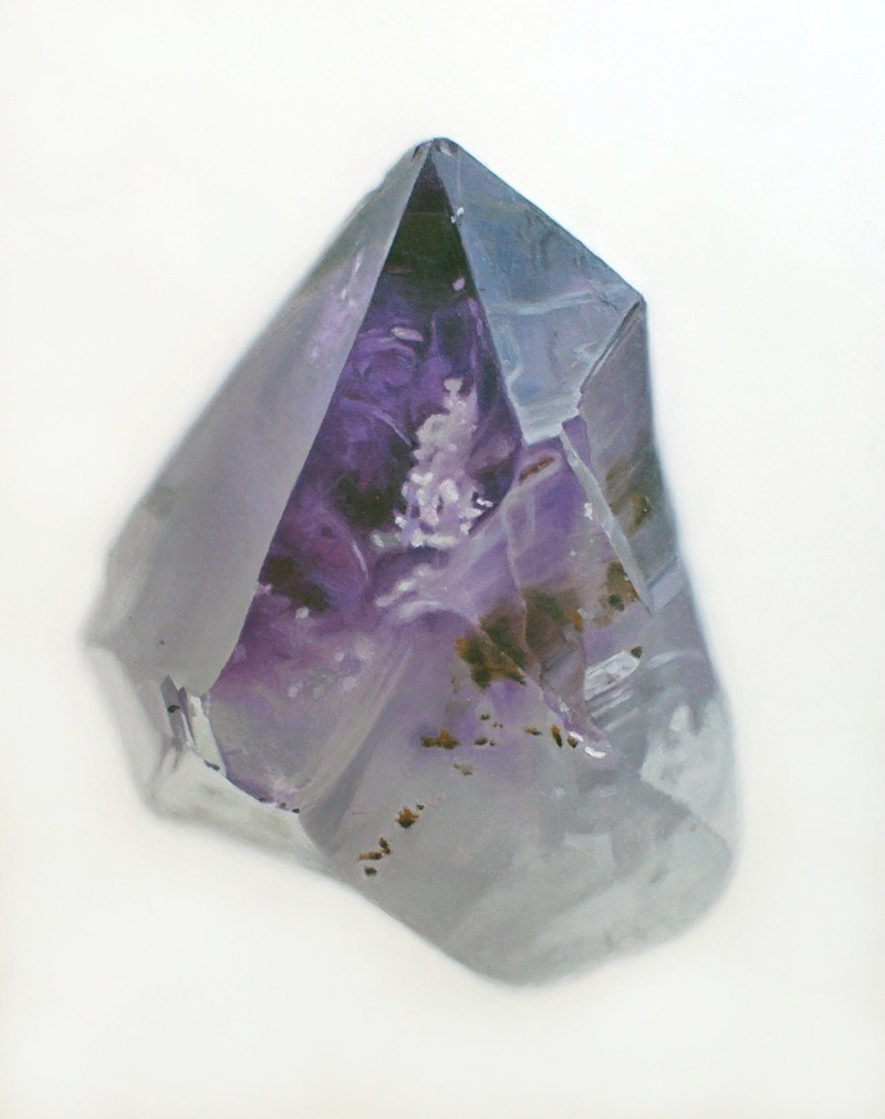 (via amethyst2ZOOM) Amethyst 2, 2009  ~  oil on masonite