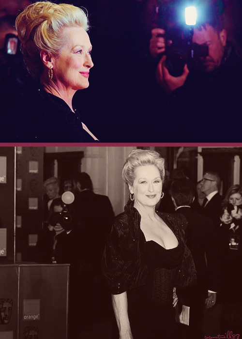 coconutmilk83:  Meryl Streep | 65th Annual BAFTA Awards - Red Carpet