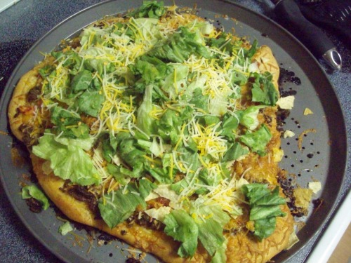 Our taco Pizza. Fuck yeah.