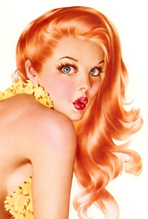 Pin Up by Alberto Vargas