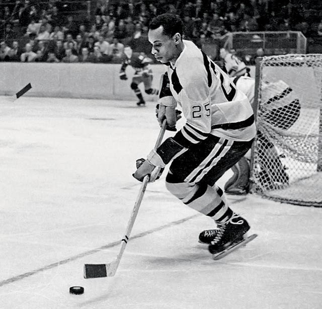 Saluting Willie O'Ree: The NHL's First Black Player