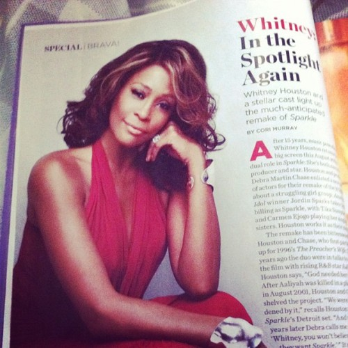 Essence Magazine March 2012 issue  (Taken with instagram)