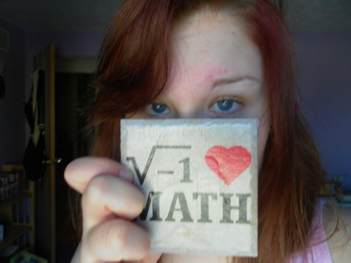 My dad the math teacher got it for Christmas <3  OMG  Seriously one of the greatest things I've ever seen.  The limit of my jealousy does not exist.