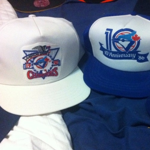 #iphoneography #toronto #bluejays #jays #snapback #snapbacks #igers #popular #vintage #teamunit #arencibia #swag #karmaloop #discounts #oldshool #tdot  (Taken with instagram)