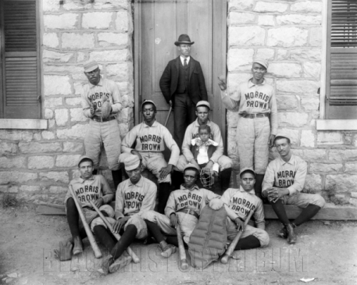 Batter Up! | 1899 African-American baseball players of Morris Brown College in Atlanta, Georgia, 1899. FIND US ON TWITTER | FACEBOOK | FLICKR  SUBCRIBE VIA  RSS | EMAIL