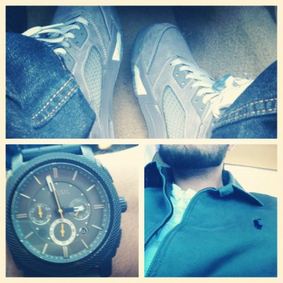 #Jordan #RalphLauren #Polo #Fossil  (Taken with instagram)