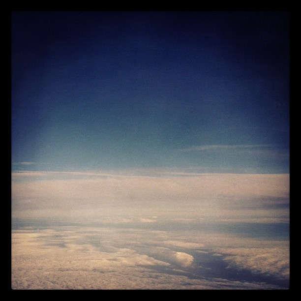 Above the sky (Taken with instagram)