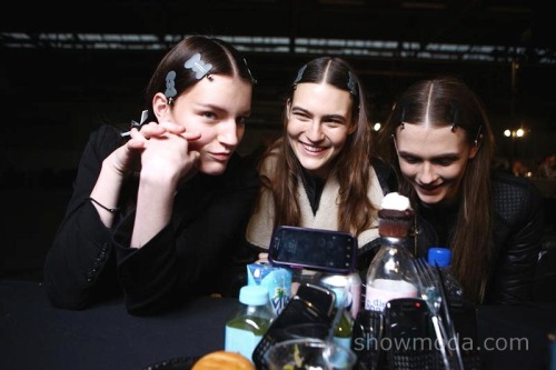 Alexander Wang Backstage Beauty #NYFW #AW12