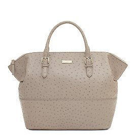kate spade's ladylike and functional ostrich embossed cowhide portola valley blaine bag on sale for $367! what a great price for such a timeless investment.