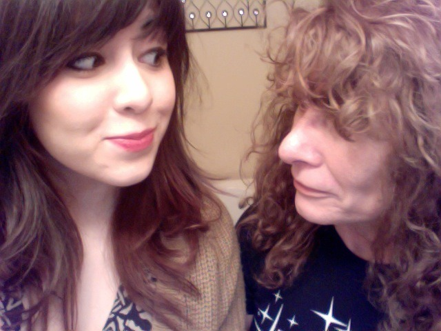 My ma is here visiting! Isn't she the cutest :) Love her!