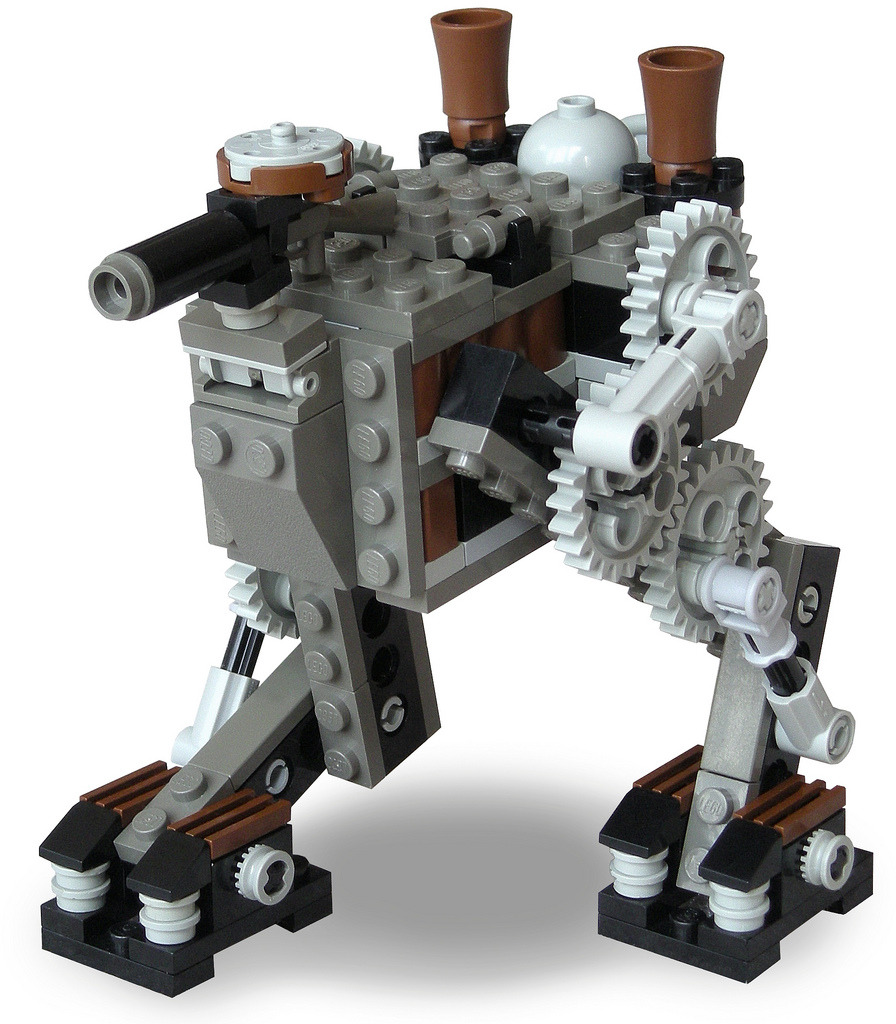 Scout Steam Bi-Walker Mk. XXXI (by Ɍaillery)