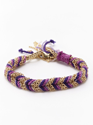 love the interwoven purple hues with gold chain link. a mere $34 on gilt. valentines gift from me to me?