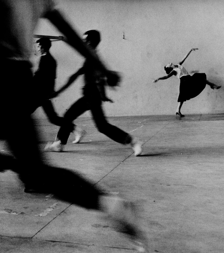 oldhollywood:  Rita Moreno, West Side Story rehearsal, 1961. Photographer: Phil Stern