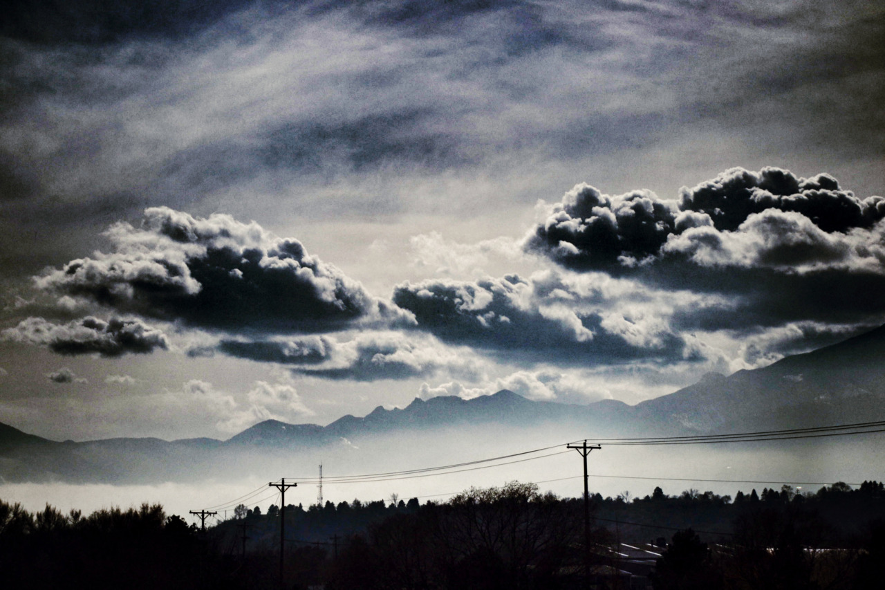 Looking south. Colorado Springs.    ©2012 Laurence Zankowski
