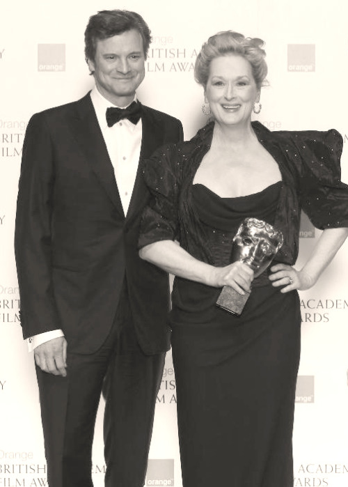 theturquoisewind:  Collin Firth and Meryl Streep  This picture is absolutely perfect.