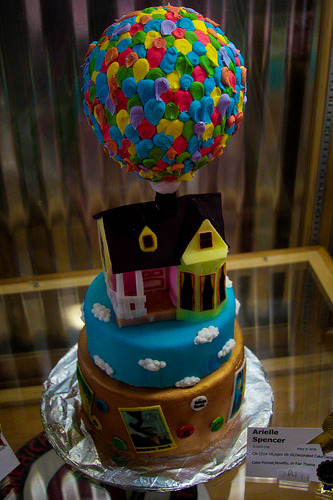 disneycakes:  Up! (by verslibre)