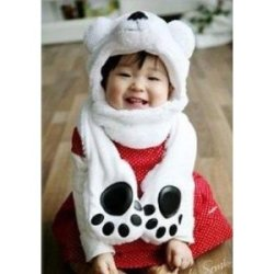 How cute baby looks in this hat! Get it on Amazon $15.92