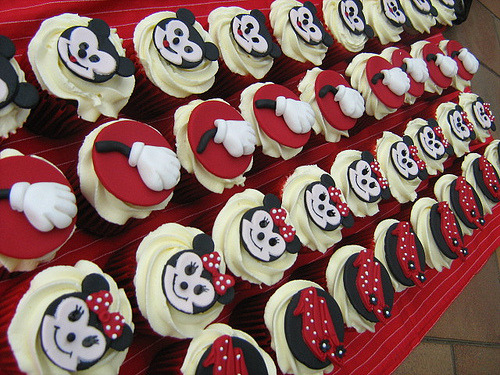 mickey and minnie mouse collection (by cherries and chives-zaheera badat)