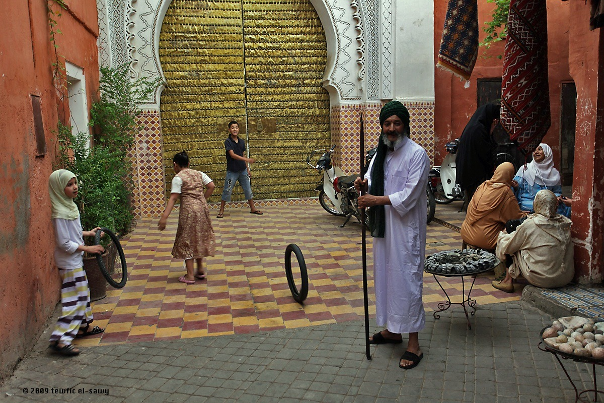 Marrakech Street Life. Photo © Tewfic El-Sawy