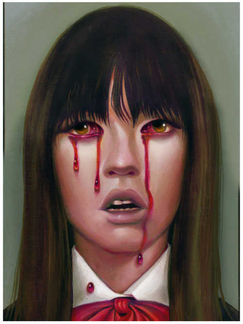 "spokeart:  Steven Daily - ""Gogo"" Inspired by Quentin Tarantino's ""Kill Bill."" Limited edition fine art print, edition of 35 Available here - http://spoke-art.com/"